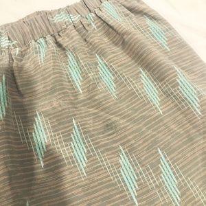 Skirts - 100% Silk Vintage Printed Mini Skirt!